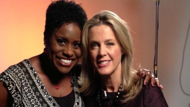 JaQuitta Williams and Deborah Norville