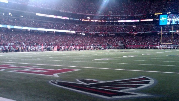 Georgia Dome, NFC Championship Game