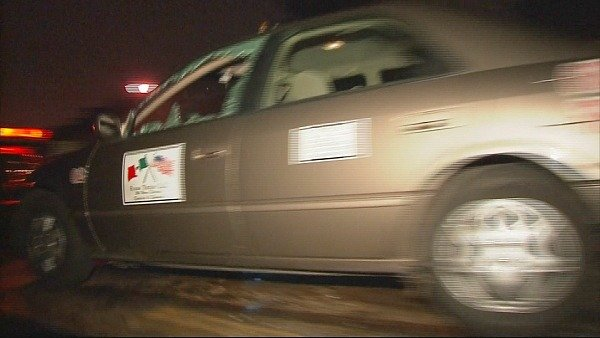 Driver found dead inside cab Friday morning.