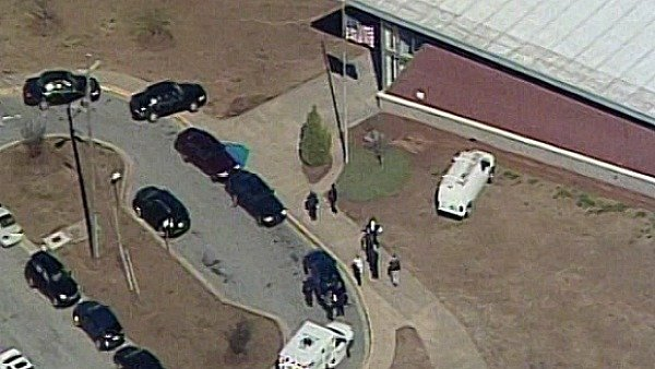 Atlanta police cruisers, ambulances surround Price Middle School