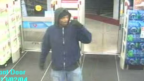 Police search for man accused of robbing Walgreens