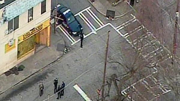 Aerials of the scene