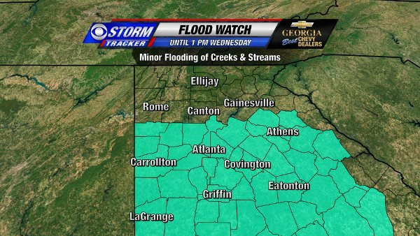 Flood Watch through Wednesday