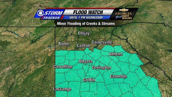 Flood Watch through Wednesday