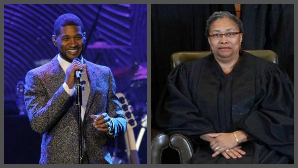 (Usher Photo Source: AP)