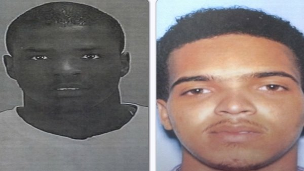 Julius Thomas, pictured on the right, and Desmond Nixon, on the left, have been arrested.