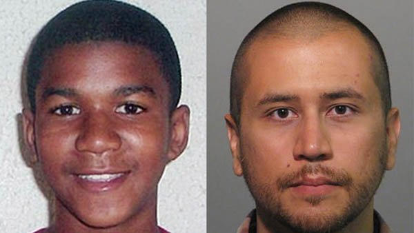Trayvon Martin, George Zimmerman (Source: AP Photo)