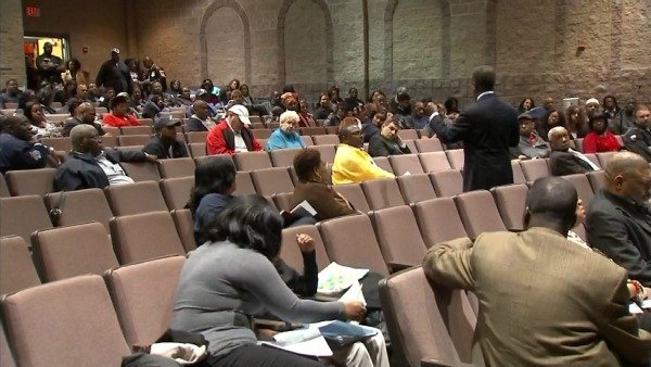 DeKalb parents met Tuesday night with interim Superintendent Michael Thurmond.