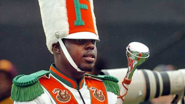 Prosecutors are charging 12 former Florida A&M University band members with manslaughter in the 2011 hazing death of drum major Robert Champion. (Source: Joe Brown/TBO)