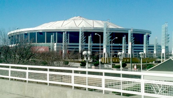 The Georgia Dome in downtown Atlanta