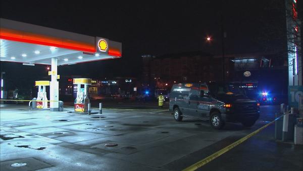 Shell station on Northside Dr. NW, Atlanta