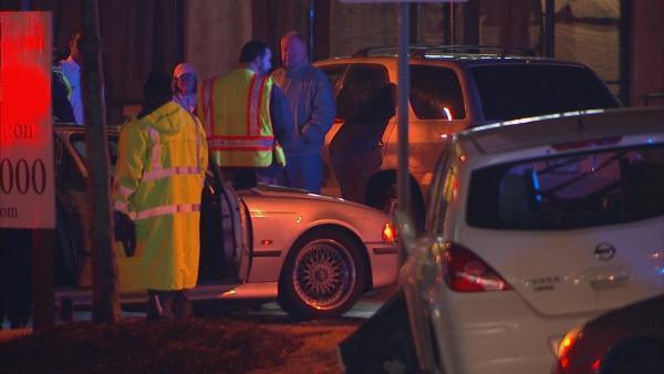 Officers investigate shooting, crash on Northside Drive.
