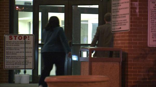 Tameka Goodson surrenders at Fulton Co. Jail