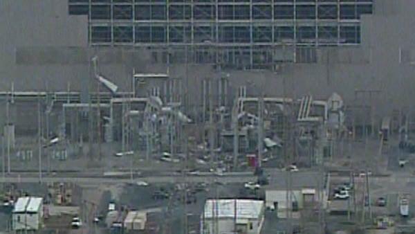 View from CBS Atlanta Sky Eye