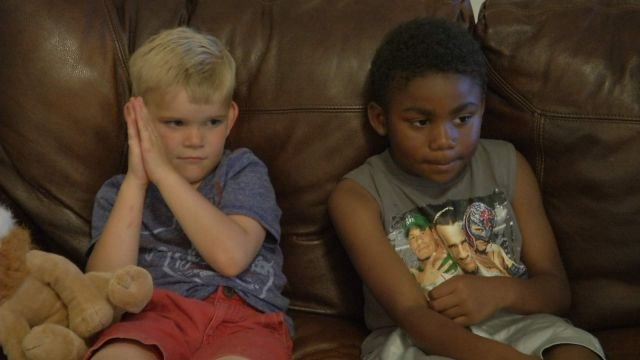 Scotty, left, and Jadan, right, are at home healing.