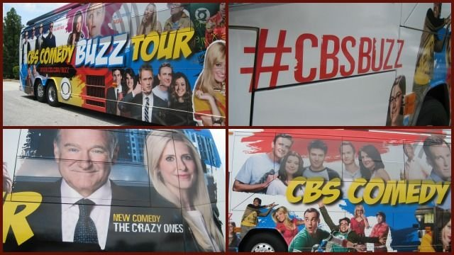 If you see the bus Tweet #CBSBUZZ