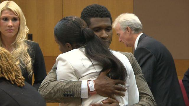 Usher and Tameka Raymond