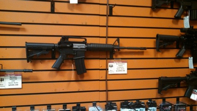 Georgia Gun Owners raffles off assault rifles