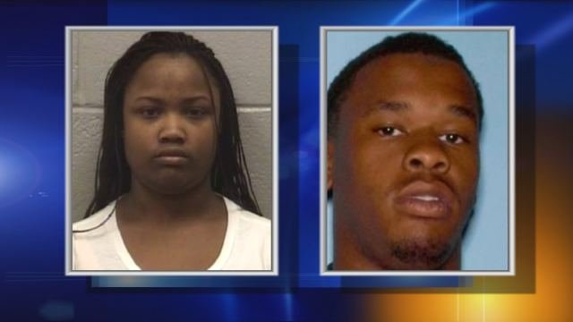 In custody: Iesha Washington, 22; Dexter Ware, 21