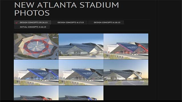 New georgia dome website launched cbs46 news for Mercedes benz stadium will call location