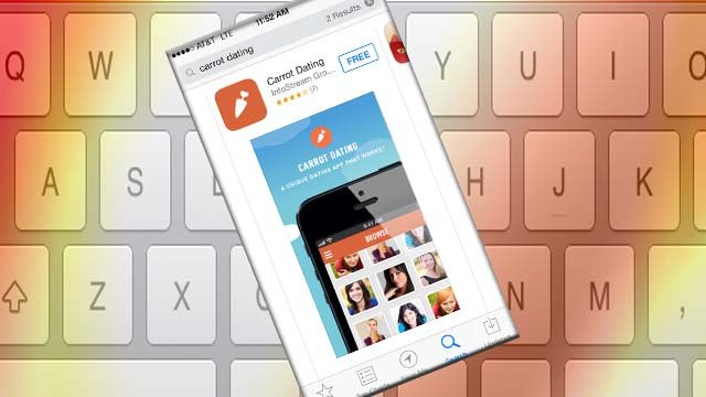 dangle the carrot dating for iphone