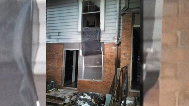 Fire destroys apartment on New Town Circle, southeast Atlanta