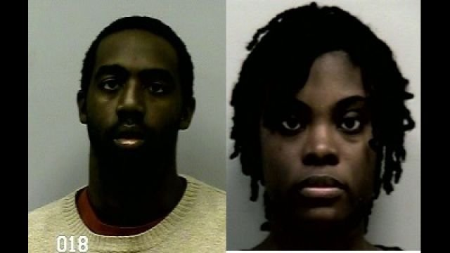 Arrested: Eman and Tiffany Moss