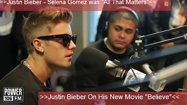 Justin Bieber on Power 106
