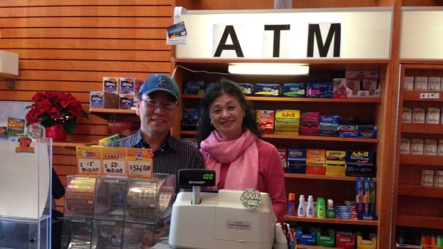 Owners of Gateway Newstand where winning Mega Millions ticket was sold
