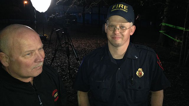 Firefighter who rescued child, Lt. Clayton Kirbo