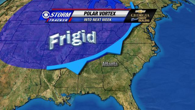 Next week's weather pattern