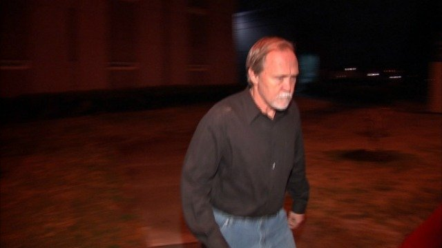 John McGill leaves the DeKalb County Jail at 2:40 a.m. Wednesday