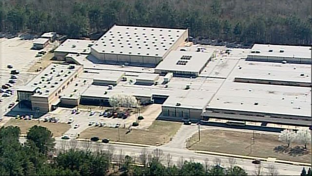 Mt. Zion High School in Jonesboro