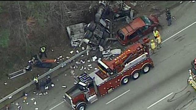 killed, 2 injured in NB I-85 crash near Steve Reynolds Blvd - CBS46 ...