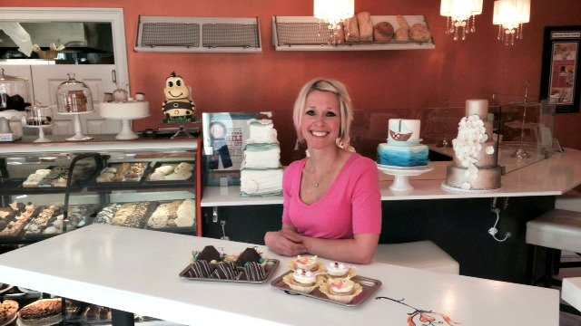 Veronica Estrada, owner of Sugar Benders Cafe and Bakery