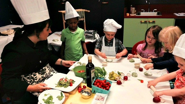'Cooking with Colors' at Children's Museum of Atlanta