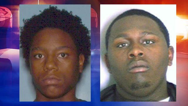 Demetruis Fortson (L) and Jeremy Southern (R) are wanted by Atlanta police for murder.