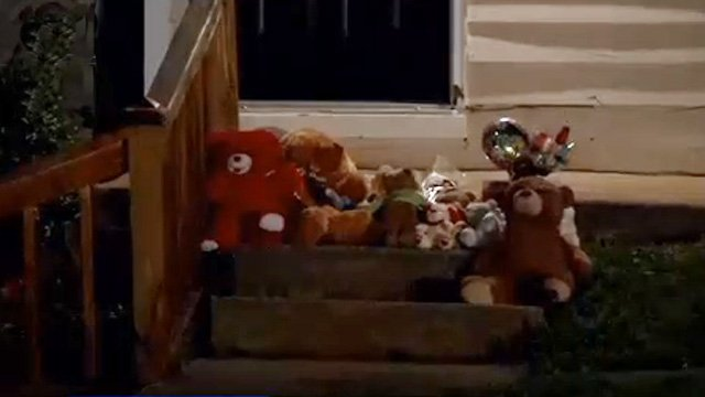 Memorial for child killed in home invasion