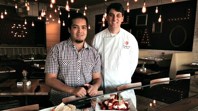 Scott Sawant, owner, and Eric Mulville, executive chef