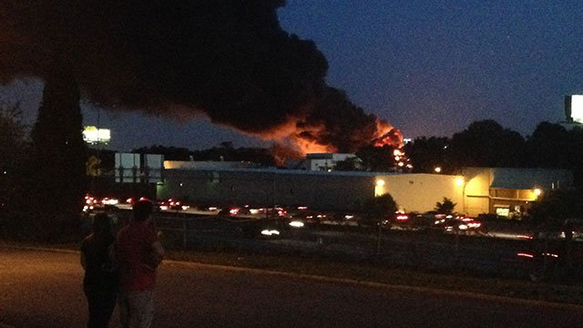 Photo from CBS46 photographer Chris Peters