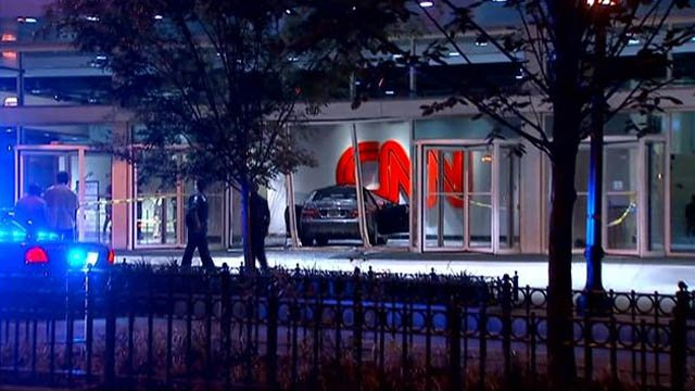 Car crashes into lobby of CNN Center in downtown Atlanta