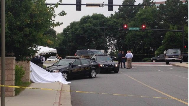 A baby has died after reportedly being left in a hot car in Cobb County. (Credit: Chris Peters)