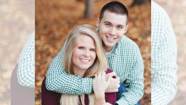 Chris Sparkman and his wife Jamie Lynn.