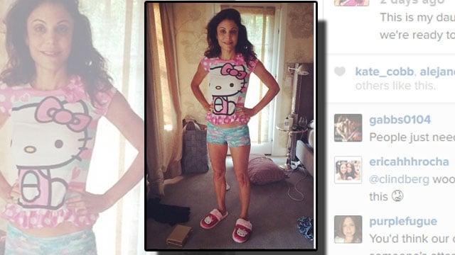 bethenny frankel causes stir over instagram post in kid s
