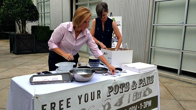 Organizers prepare for Kitchen Kit Drive