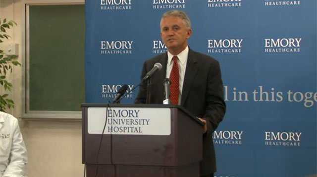 Press conference on Ebola patients coming to Atlanta