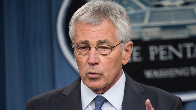File photo of Secretary of Defense Chuck Hagel from Sgt. Aaron Hostutler with DoD.