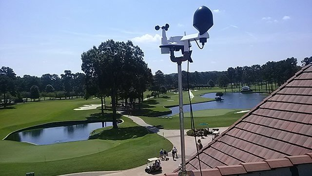 © Portable Weather Station at Atlanta Athletic Club