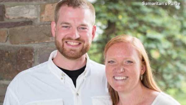 Kent Brantly says he has a few more hurdles to clear before he can be released and reunited with his family, including his wife, seen here. (Source: Samaritan's Purse/CNN)