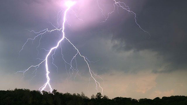 File photo of lightning from Jim Pennucci